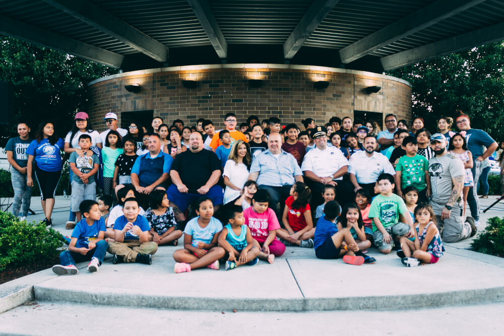 Attendees at the annual Cicero Day of Prayer July 10, 2018 - Photo by Ana Macario
