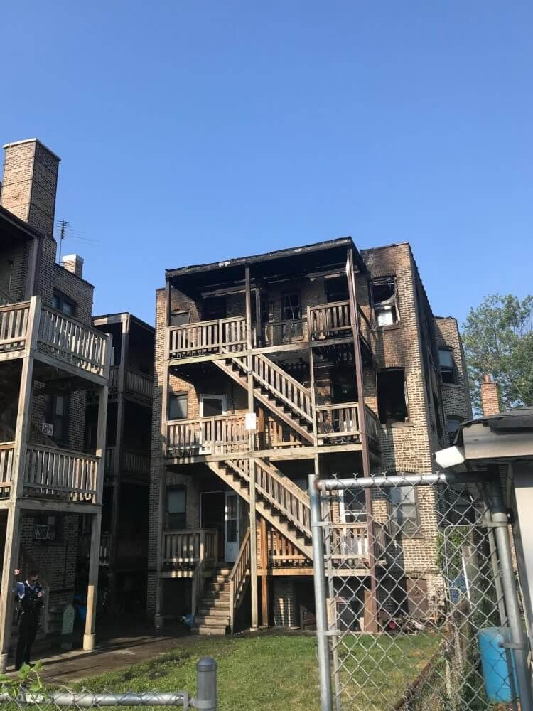 60 residents, and pets, rescued from major apartment fire in Cicero