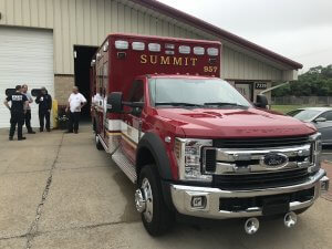 New ambulance in Summit