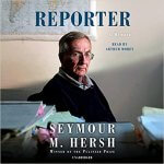 """Book cover of """"Reporter"""" by author and journalist Seymour Hersh"""