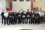 Cicero honors firefighters who saved lives at 50th Court Apartment fire