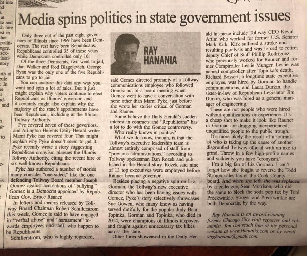 Media spins politics in state government issues