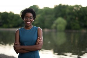14th Illinois Congressional District Candidate Lauren Underwood. Photo By: R. Dione Foto (www.rdionefoto.com)