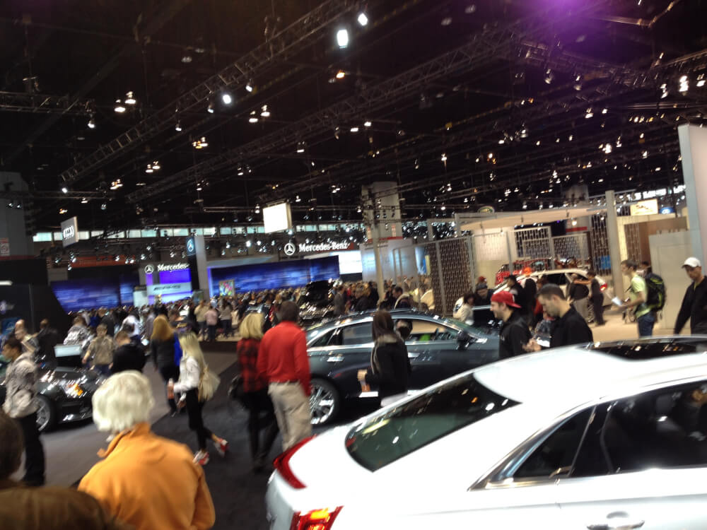 Chicago Auto Show Photo courtesy Ray Hanania