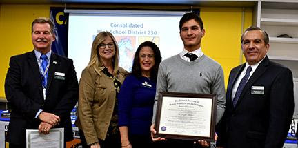 School District 230 celebrates student achievements