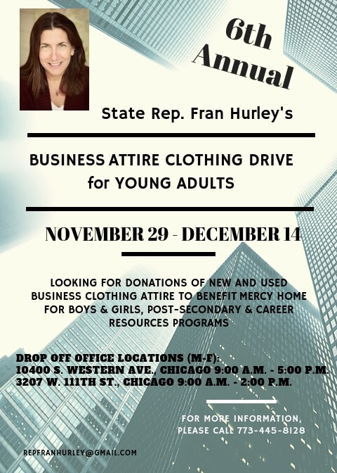 Hurley Holds Business Attire Clothing Drive to Benefit Local Non-profit