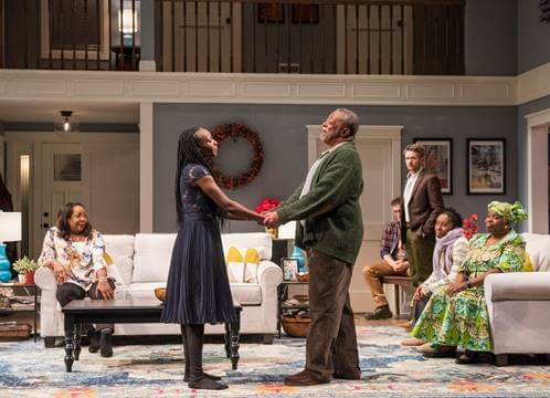 Steppenwolf's Chicago Premiere Production of Familiar Written by Danai Gurira Directed by Danya Taymor Now Playing Through January 13, 2019