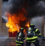Orland Firefighters battle demonstration fire at OFPD Open House event