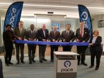 State Senator Martin Sandoval (D-Chicago), Chairman of the Illinois Senate's Transportation Committee, joined several local officials last week to celebrate the completion of Pace's new Chicago ADA Paratransit headquarters in conjunction with the United Nation's International Day of Persons with Disabilities.