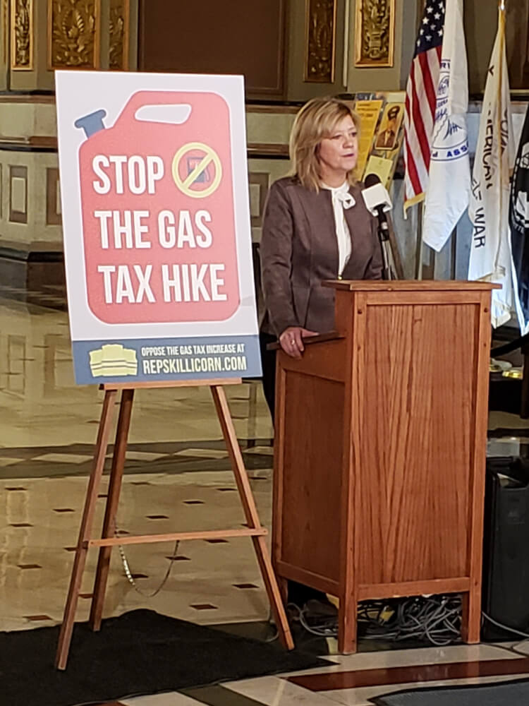 Protestors block 30 cent gasoline tax hike