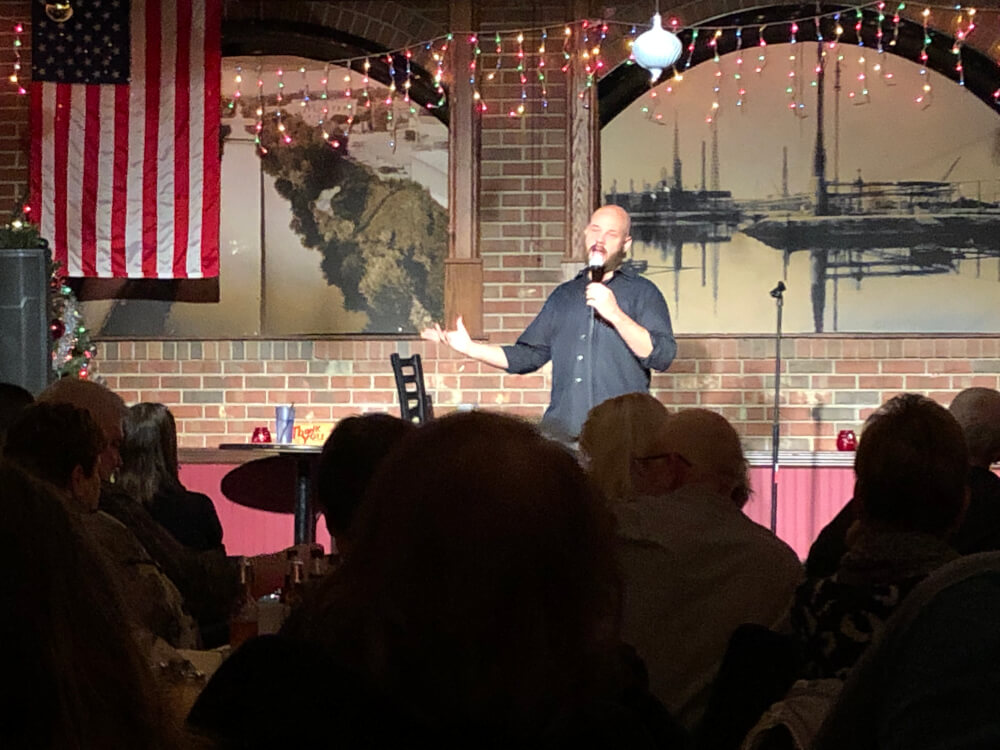 Gelsosomo's in Lemont offers great food and hilarious comedy shows