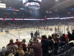 Wolves hockey game at Allstate Arena. Photo courtesy of Ray Hanania