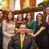 State Senator Martin Sandoval is sworn in to a 6th term surrounded by his family
