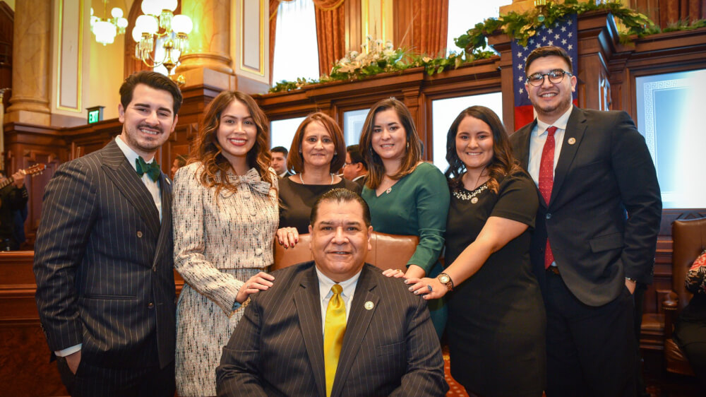 Sandoval takes oath of office for sixth term