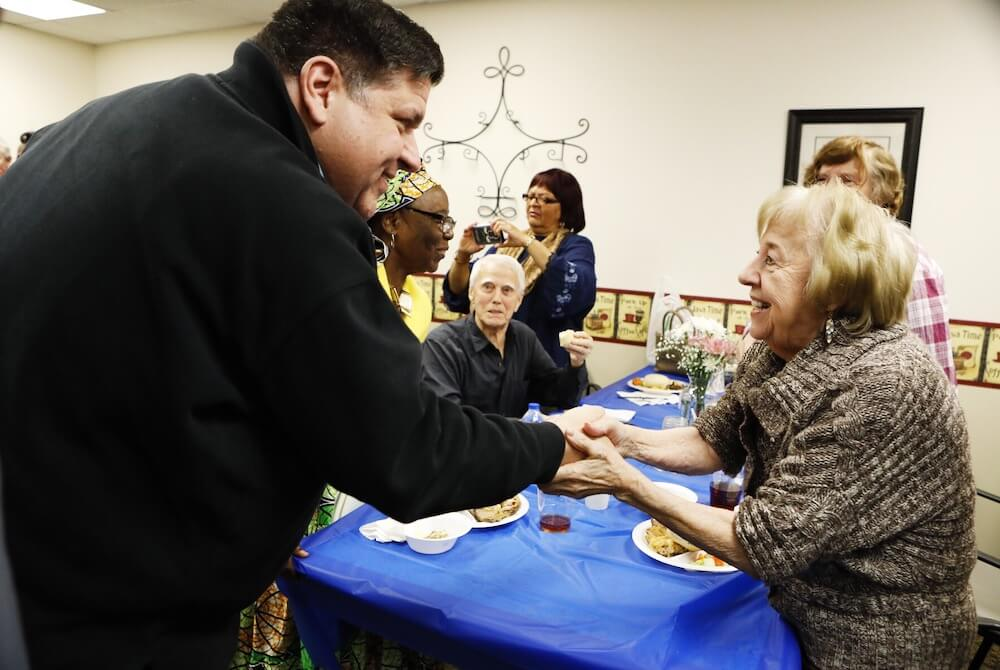 """Pritzker, Stratton host """"Day of Service"""" to kickoff their inauguration"""