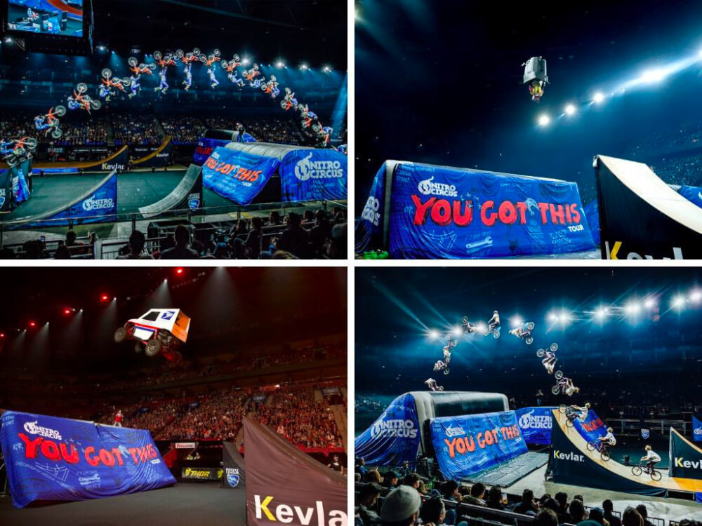 "Nitro Circus' ""You Got This"" tour comes to Bridgeview's SeatGeek Stadium in Spring"