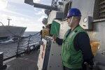 Gunner's Mate 2nd Class Sergio Medina. (U.S. Navy photo by Mass Communication Specialist 3rd Class Maria I. Alvarez:Released)