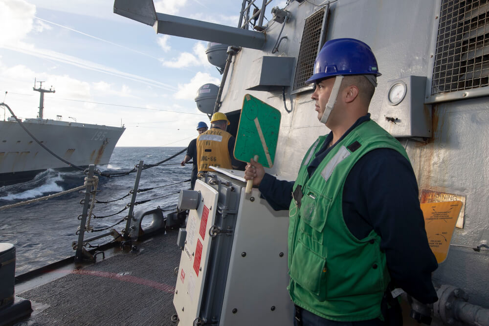 Photo, Military Profile: Chicagoan aboard the USS Sergipo Gonzalez