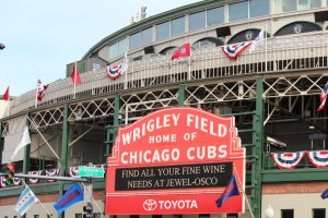 Chicago Cubs, Wrigley Field. Photo courtesy of Ray Hanania
