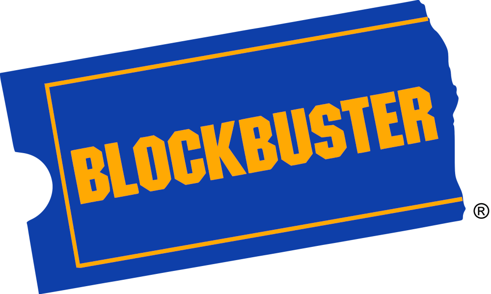 Blockbuster Video store logo. Courtesy Wikipedia