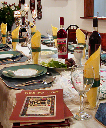 Max and Benny's Offers Passover Seder food service