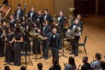 The Stagg High School Symphonic Band recently performed at the Wentz Concert Hall at Northern Illinois University under the direction of Bob Mecozzi