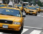 Easily identified Yellow Taxi Cab. Photo courtesy of Wikipedia