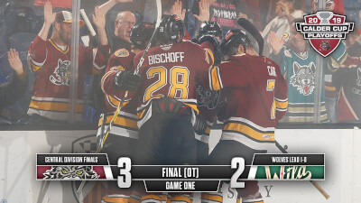 Wolves seize Game 1 in Overtime over Iowa
