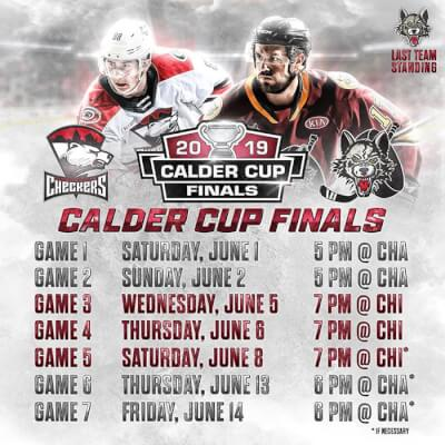 Wolves take first game of Calder Cup Championship