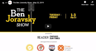 Ben Joravsky tackles Chicagoland Politics on podcast