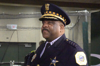 Chicago Police Supt Eddie Johnson. Photo courtesy of Wikipedia