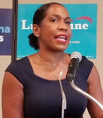 Illinois Lieutenant Governor Juliana Stratton. Photo courtesy of Wikipedia