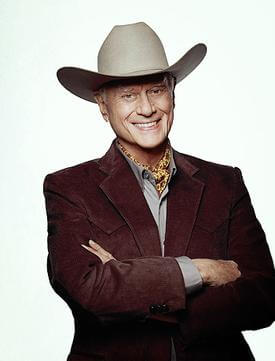 Actor Larry Hagman played JR Ewing in the 1980s hit series Dallas. Photo courtesy of Wikipedia