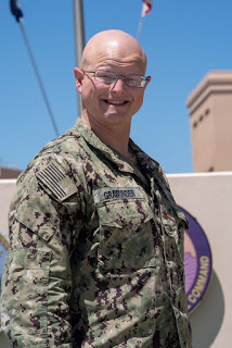 Oak Lawn native protects U.S. Navy Forces in Middle East
