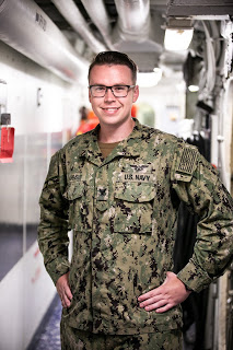 Joliet native serves on advanced U.S. Navy Warship in Pacific