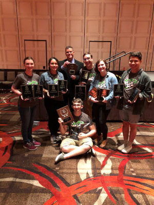 Moraine Valley Speech Team earns national awards