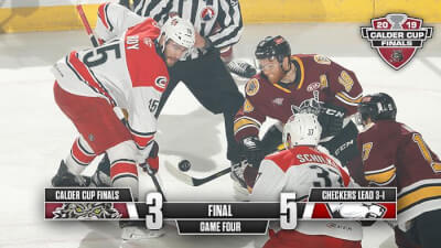 Wolves lose 3rd game in Calder Cup Finals