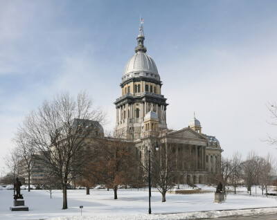 Illinois State Capitol Building. Photo courtesy of Wikipedia