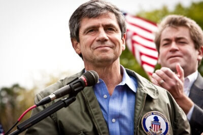 Former Pennsylvania Congressman Joe Sestak announces for President. Photo courtesy of www.JoeSestak.com
