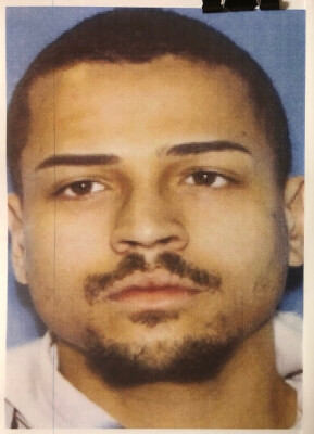 Ricardo Soto Lyons suspect in shooting at police during traffic stop. Mugshot courtesy of the Lyons Police