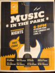 Music in the Park, Village of Lyons June - August 2019