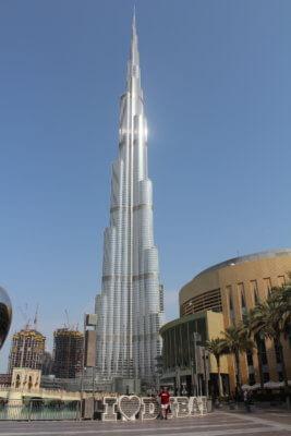 Burj Al-Khalifa in Dubai. Photo courtesy of Ray Hanania