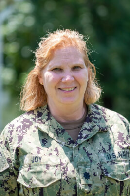 US Navy Cmdr Tracy Joy Immaculate Heart Of Mary High School graduate, Westchester, Illinois