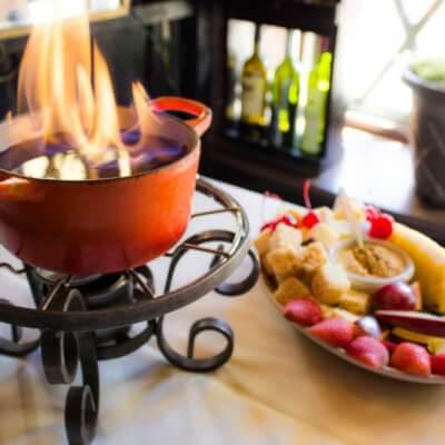 Geja's Cafe, Fondue specialities