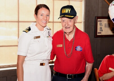 Oak Lawn Navy Recruit helps honors WWII Merchant Marine in San Antonio