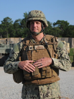 "Orland Park native exemplifies ""We Build, We Fight"" legacy of Navy Seabees"