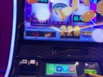 Casino slot machine screen onboard Carnival Cfruise Line 2018