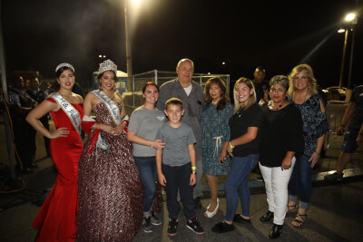 Cicero Town President Larry Dominick and Diane Dominick celebrate the closing of the four-day Mexican Independence Day celebration held from Thursday thur Sunday, Sept. 12 - 15, 2019. More than 30,000 people attended the festival and viewed the two hour long parade which featured more than 30 floats. Photo courtesy of the Town of Cicero