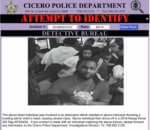 Suspect in Cicero Bowling Alley assault that occurred on Wednesday evening, Sept. 4, 2019. Photo courtesy of the Cicero Police