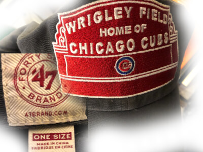 "Chicago Cubs Baseball Cap ""Made in China"" Photo courtesy of Ray Hanania"